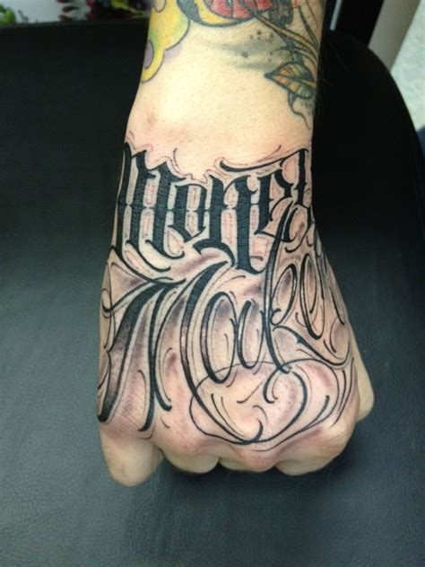 hand tattoo alphabet tattoo lettering google search type pinterest