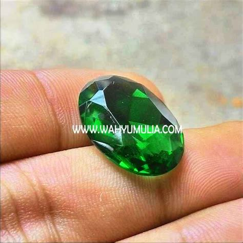 Harga Batu Cincin Meteor Hitam batu green tektit satam hijau kode 279 wahyu mulia
