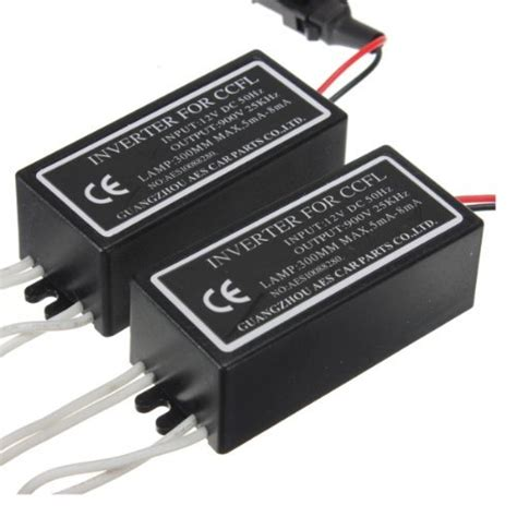Ccfl Neon Inverter 3 Output Ballast Eye Water Murah baifm 2x 4 outputs ccfl spare inverter ballast for halo rings johnny s replacement