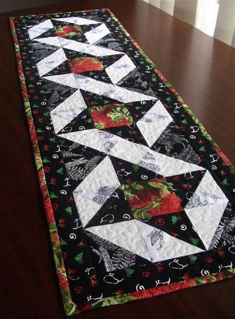 Free Patchwork Table Runner Patterns - table runner new 35 quilted table runner free