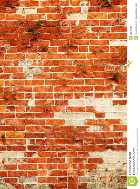 flur gestalten mit steintapete klinker oben nahe vertikale lizenzfreies stockbild bild