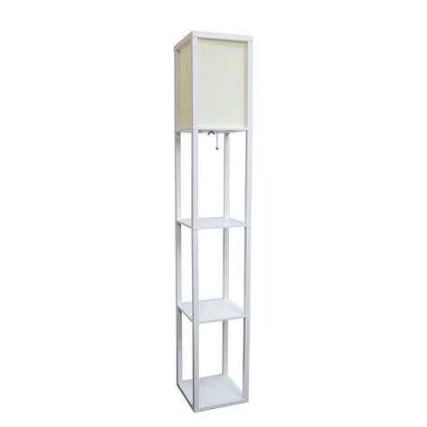 simple designs 63 3 in etagere black floor l organizer