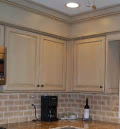 kitchen cabinet bulkhead cabinets hangs out from soffit