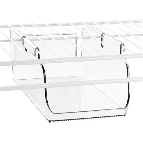 under storage shelf under shelf storage bin wire shelving in under shelf