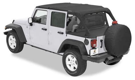 Different Jeep Tops Bestop 174 Safari Duster Windjammer Summer Combo