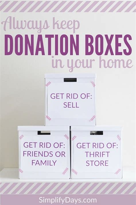 How To Make A Donation Box Out Of Paper - the 25 best donation boxes ideas on