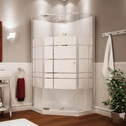 Home Depot Bathtub Enclosures Maax 105618 000 129 102 Maax Shower Solution Begonia 36 In