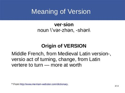 Full Version Meaning | never a wrong semantic version again ferry huberts