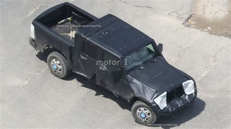 jeep truck 2018 spy photos 2018 jeep wrangler everything we know