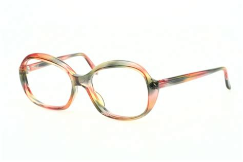 handsome rainbow colored vintage eyeglasses by martin