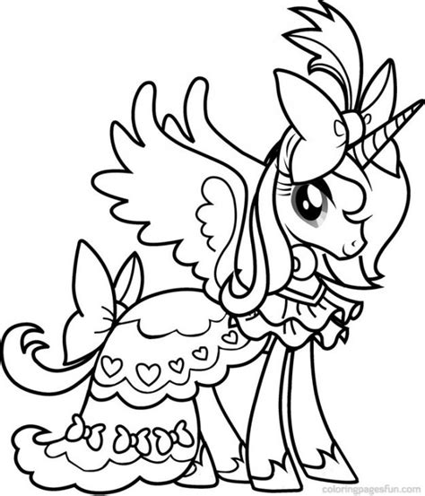 mlp coloring pages princess princess cadence from my little pony coloring pages