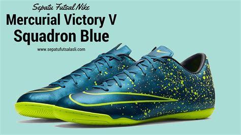 Sepatu Nike Futsal Mercurial High Mid sepatu futsal nike mercurial victory v squadron blue 651635 440
