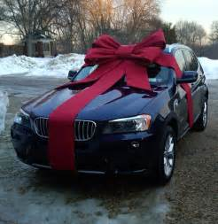 big bow for new car gifts your car will you for
