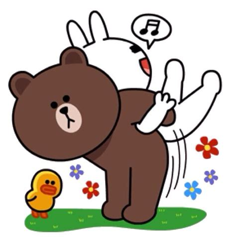 Brown Cony Line 18 best brown and cony images on cony brown line sticker and line friends