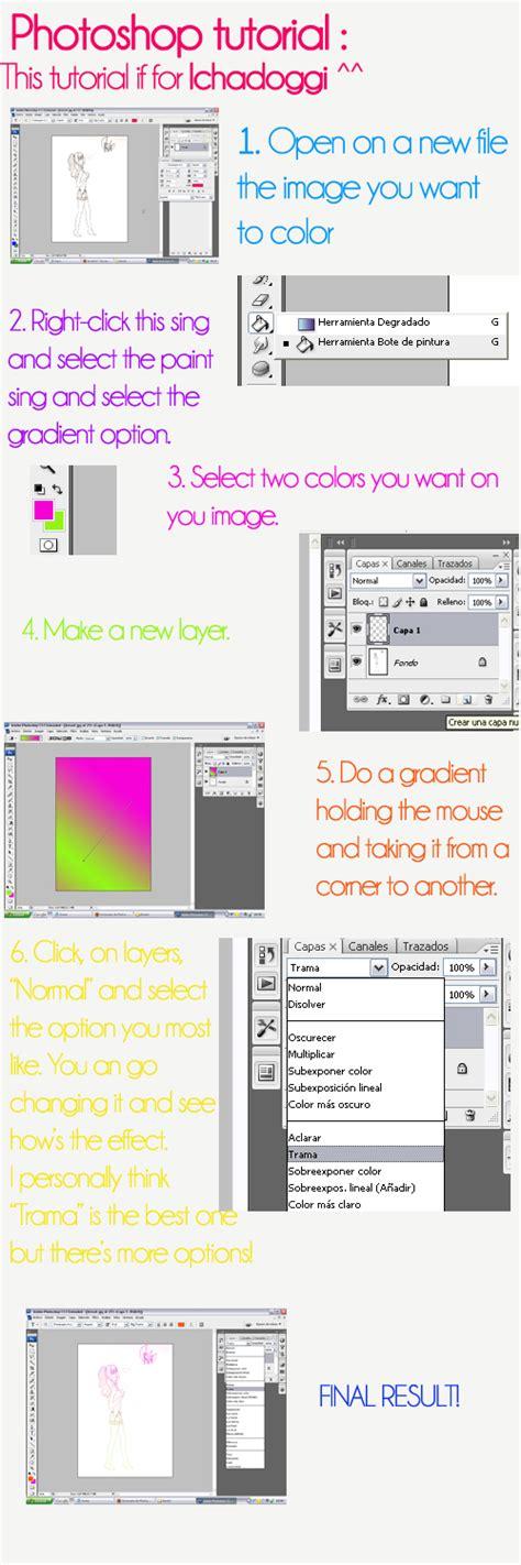 Tutorial Photoshop Volume 1 1 photoshop tutorial 1 gradient by ariisate on deviantart