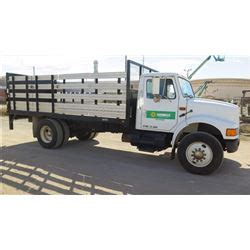 stake bed truck rental 1993 international flatbed stake bed truck w tommy lift