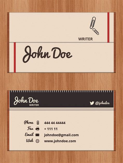 business card display template business cards psd