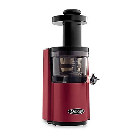 juicers at bed bath and beyond omega 174 vsj843r low speed dual edge juicer bed bath beyond