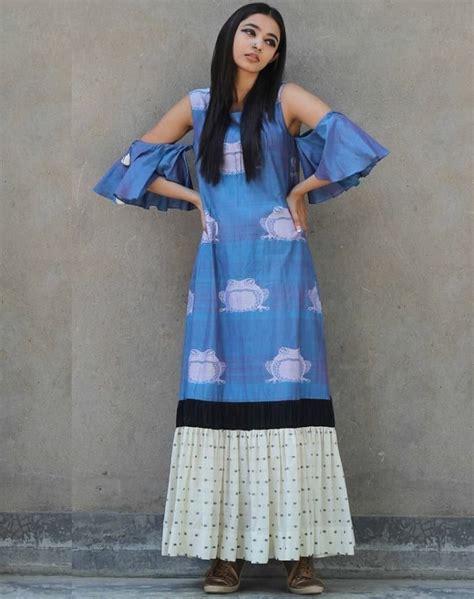 cotton printed bell sleeves long kurta salwar patterns 753 best women s kurti images on pinterest
