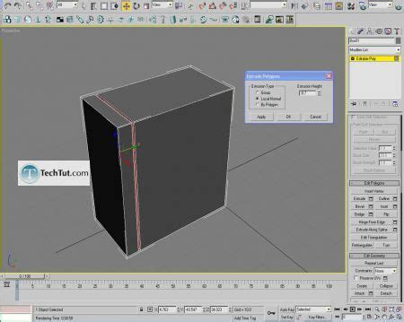 tutorial merajut casing hp 3ds max modeling create a computer case model tutorial