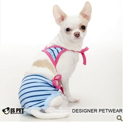 puppy bathing suits ispet clothes pet clothes physiological swimwear ss 2045 petsoo