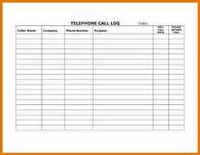 13 customer call log template plantemplate info