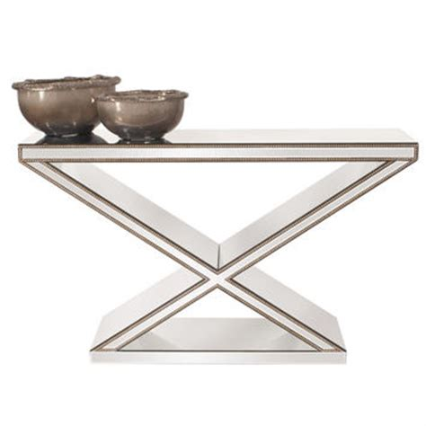 X Frame Console Table Shop Mirrored Console Table On Wanelo