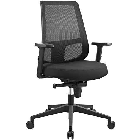 pump ergonomic mesh  office chair  lumbar support black