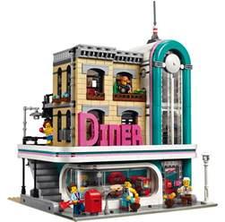 building creator lego downtown diner 10260 modular building 2018 vorgestellt zusammengebaut