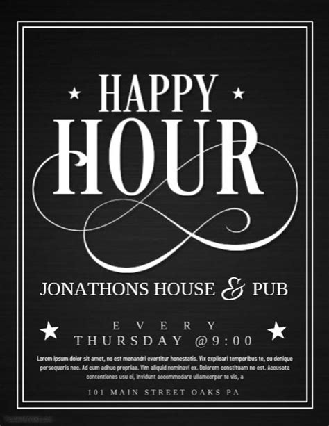 21 Happy Hour Invitation Template Images Happy Hour Invite Template Free Printable Invitation Happy Hour Invite Template
