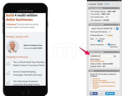 get it mobile the anatomy of a mobile landing page that converts