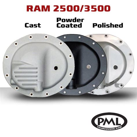 dodge ram front differential pml introduces new 12 bolt front differential cover for