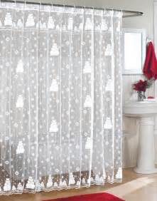 Xmas Shower Curtains Christmas Shower Curtains Furniture Ideas Deltaangelgroup