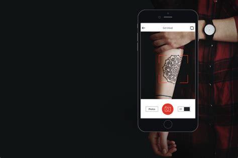 new tattoo app download new app inkhunter lets you test drive new tattoo ideas