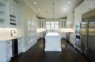 white kitchen cabinets with dark floors white kitchen cabinets with dark wood floors