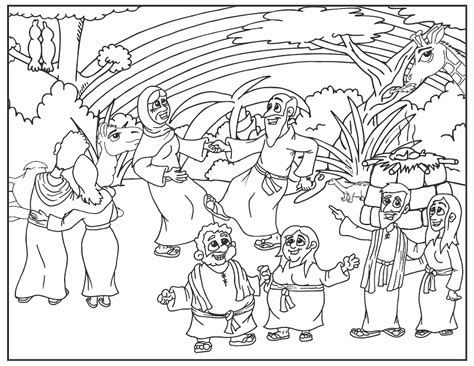 coloring page noah s ark coloring pages of noah s ark coloring home
