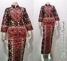 Tunik Atasan Wanita Blouse Etnic Muslimah Motif Batik A070 denny wirawan pasar malam the actual style อ นโด