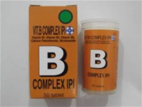 Vitamin B3 Ipi mari bijak mengonsumsi vitamin b kompleks oleh meldy