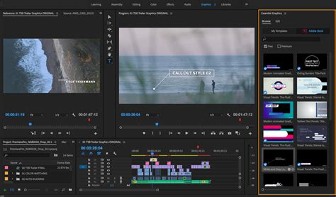 New Features Summary For The July And April 2018 Releases Of Adobe Premiere Pro Cc Adobe Premiere Sports Templates