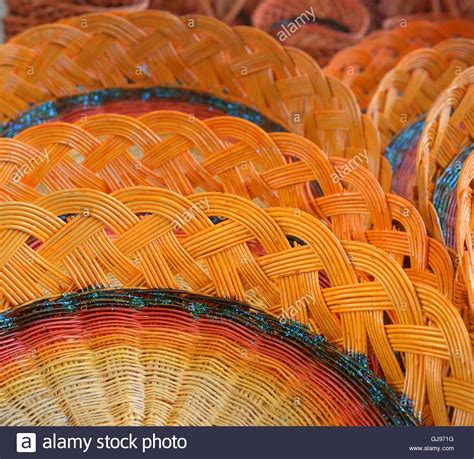 colorful woven baskets woven baskets stock photos woven baskets stock images