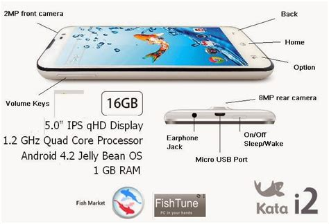 Kata Screen Protector Fish by Kata I2 Android Launched At P7 699 With 16gb