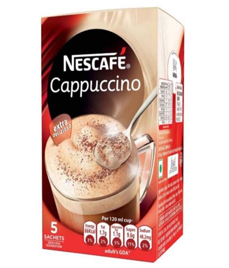 nescafe cappucino nescafe cappuccino 75 gm pack of 2 buy nescafe