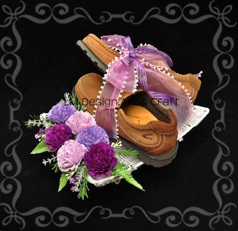 Set Atikah Hitam tema pink purple lm design craft seni kawin