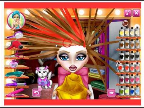 real haircuts games monster high bratz real haircuts monster high game youtube