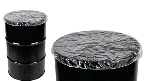 Anti Pattern Drum Cover   drum pallet covers elasticated polythene covers