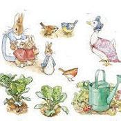 beatrix potter wall stickers wall stickers and decals for a baby s nursery room