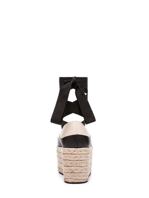 Wedges Jk Collection Jdd 1505 ballerina wedge in calfskin and jute from the marni summer 2018 collection marni