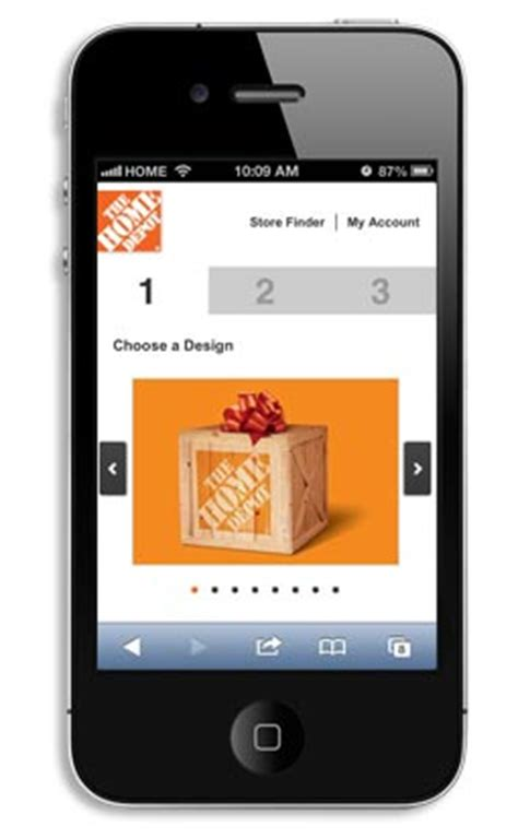 The Home Depot Gift Card Number - gift cards go mobile