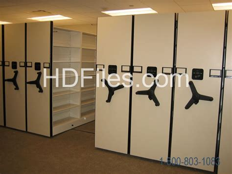 rolling file cabinet system spacesaver compact shelving and high density file shelves