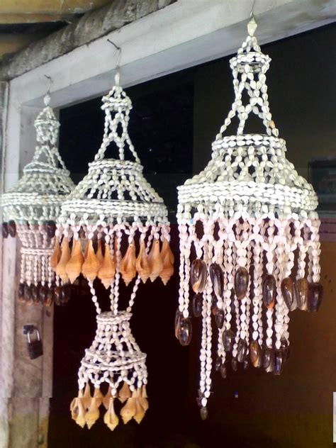 aksara aksa kirana raja craft lampu hias kerang